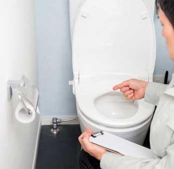 トイレの水もれ