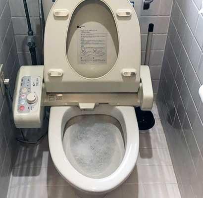 国分寺市のトイレつまり解消修理