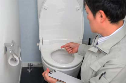 西東京市のトイレつまり解消修理