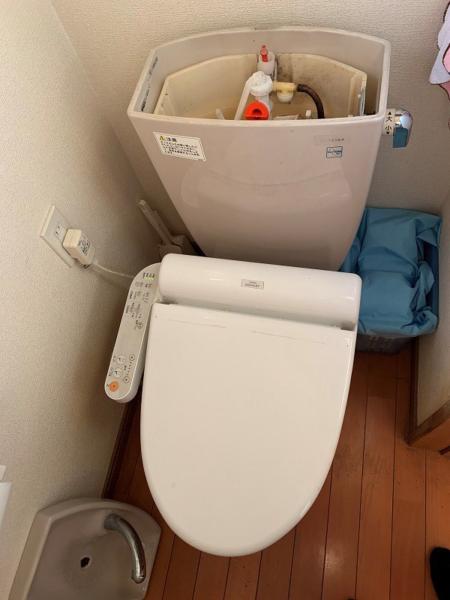 トイレタンク点検