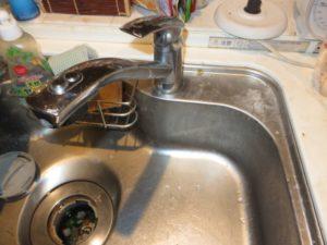 キッチン水栓交換前