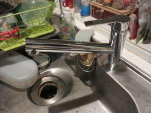 キッチン水栓交換後