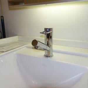 交換後洗面所水栓