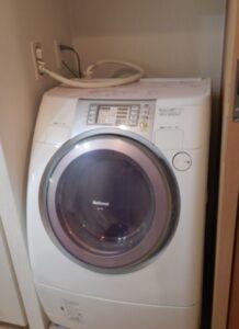 洗濯機高さ上げ前