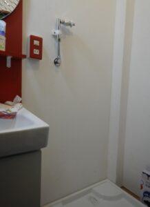 延長後壁ピタ水栓