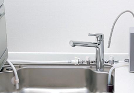 置き型食洗器と浄水器