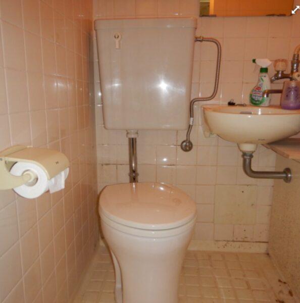 トイレタンク便器交換後